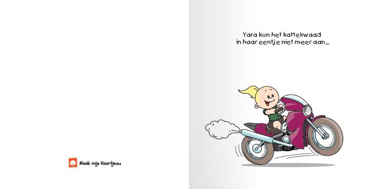 Geboortekaart race motor meisje zusje 2o tweeluik